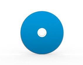 Blu-ray DVD Disc 3D asset