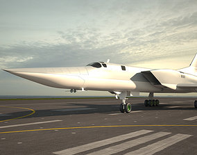 Tupolev Tu-22M 3D model