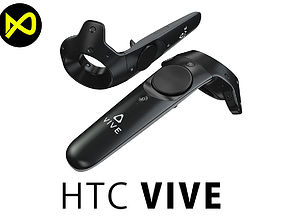 HTC Vive Controllers 3D model