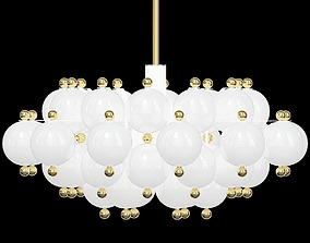 Beautiful Pair Of Chandeliers Attributed to 3D model