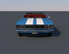 Chevrolet Camaro Z28 Convertible 1967 3D model