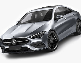 Mercedes CLA 2020 AMG package 3D