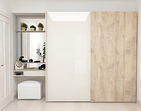 3D Wardrobe Display cabinet
