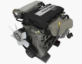 Nissan SR20DET engine 3D asset