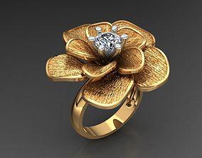 3D print model MGold018 Flower