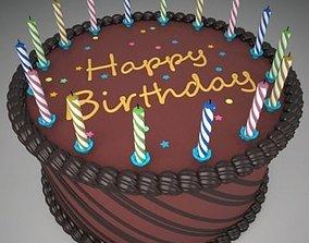 Birthday Cake 2 3D model