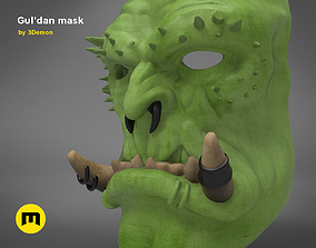 Guldan mask - World of Warcraft 3D printable model