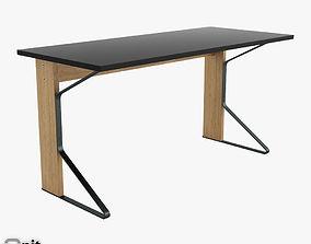 oak Artek Reb 005 Kaari Desk 3D
