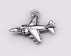 3D print model avion Sea harrier pendant
