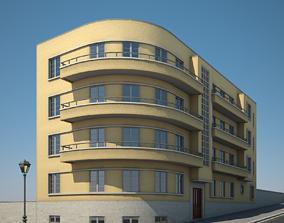 3D Apartment Building 15