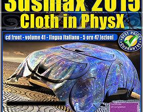 Video Corso 3ds max 2015 Cloth PhsyX vol 41 cd animated 1