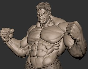 Hulk 3d Sculpt
