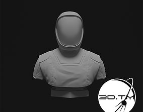 Starman Bust - SpaceX Crew Bust 3D printable model