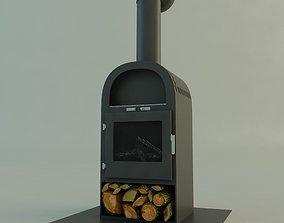woods 3D Fireplace