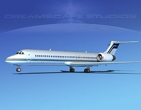 3D Boeing 717-200 Corporate 5