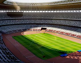 3D model New National Stadium Tokyo - Japan - 2020