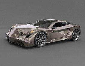 Speedtrooper concept car 3D model