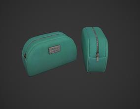 Green Makeup Bag - Cosmetics Bag 3D model
