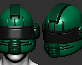 helmet high poly sculpt 3d printable sci safe