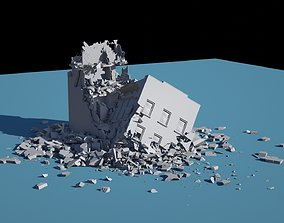 3D Collapsed Building 2