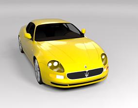 3D model MASERATI GRANSPORT LOWPOLY