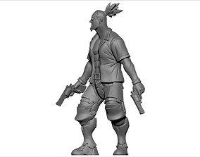 3d printable Character Model