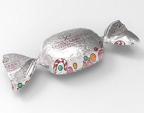 3D Cramel candy