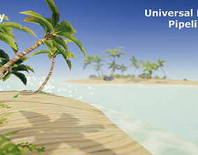 Tropical Beach for Unity 3D asset