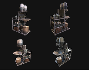 3D model Medical Equipment WWII