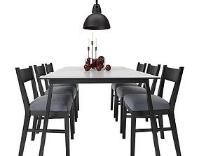 Dining Furnitures Set 53 3D model
