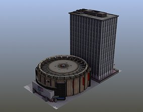 Madison Square Garden NYC 3D model