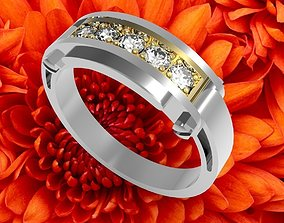 jewelry ring for woman 3d model for print precious