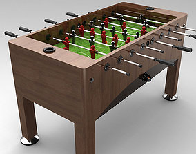 Football soccer table 3D model