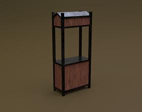 3D asset Trade stand 08 R