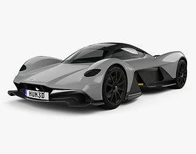 Aston Martin AM-RB 2018 martin 3D model