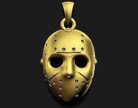 3D printable model Hockey Mask Pendant