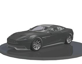 3D model Aston Martin Vanquish v2