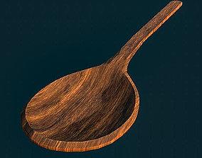Wooden Spoon 2 3D model