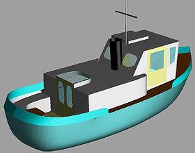 science tugboat 3D print model