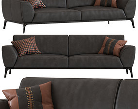Roche Bobois Accord 3-Seater Sofa 3D