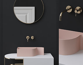game-ready Washbasins Furniture 3d model furniture