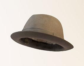 Soft Felt Hat 3D model c4d
