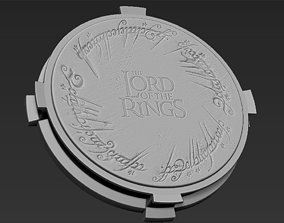 3D printable model Decorative the Lord of the Rings Base 2