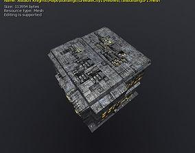 3D Greeble Buildings VR / AR ready