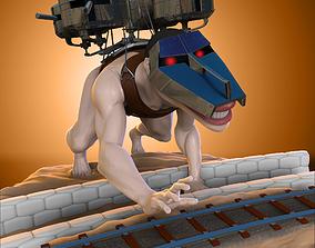 3D printable model Pieck Titan - Shingeki no Kyojin