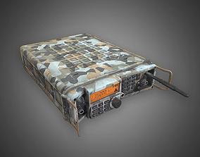 3D asset Modern Military Radio - Camouflage