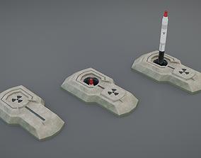 Missile silo 3D asset