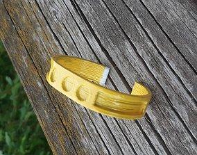 3D printable model Simple Bracelet with shapes