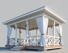 3D Wooden arbor