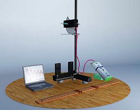 Variable g pendulum 3D model